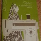 Instructions for Stylist Singer Zig Zag Sewing Machine Model 513