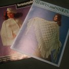 Booklets Crochet or Knit Shawls and Stoles Brunswick and Rochelle