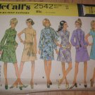 Misses Size 12 Petite McCalls Pattern Unused Uncut 1970 Retro A Line Dress