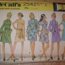 Misses Size 12 Petite McCalls Pattern Unused Uncut 1970 Retro A Line Dress