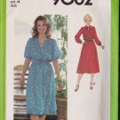 Simplicity 9062 Size 16 1979 Misses Pullover Dress Uncut