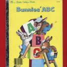 Vintage Little Golden Book - Bunnies' ABC