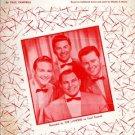 Twas Night before Christmas - vintage sheet music 1954 - 654