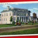 Vintage Postcard - Troop B barracks c1943 WW2 era - Malone NY 862