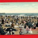 Vintage Postcard - c1909 Bathing in Victorian suits & dresses at Ocean Grove NJ 256