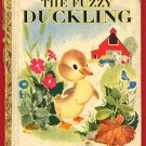 Vintage Little Golden Book LGB - #78 The Fuzzy Duckling - Edition A
