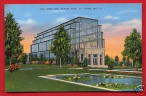Vintage Postcard - The Jewel Box - St Louis MO 859