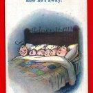 Vintage Postcard – artist signed by Douglas Tempest Kiddy Comic 835