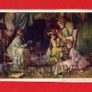 Vintage Postcard - Pretty women - Love potion from black woman W50
