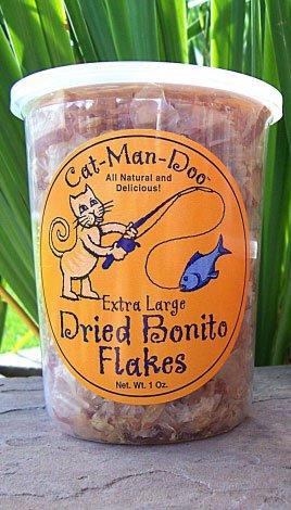 1 oz Cat-Man-Doo Dried Bonita Flakes