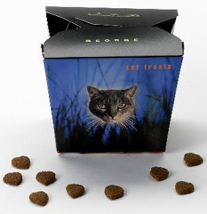 3 oz package of George Cat Treats