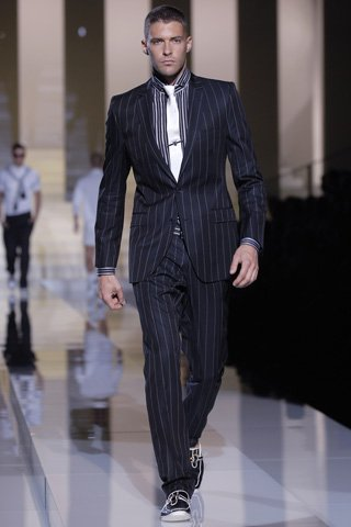 D&G evening outfit-suit, dress shirt and pants and shoes,size m