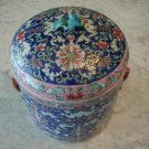 19c Straits Chinese Porcelain Jar Asian Antique Floral