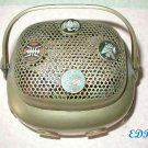 Chinese Brass Champleve Enamel Hibachi Hand Warmer