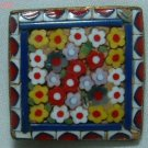 Antique Italian Micro Mosaic Floral PIN or Brooch
