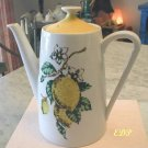 Lemon Design Ltd. Edition Coffee Chocolate Pot RETRO