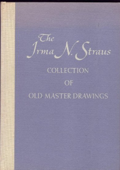Sotheby Auction Master Drawings HC Book Irma N. Straus