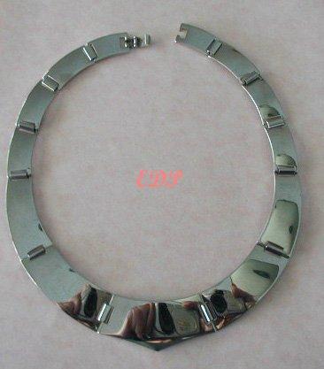 Choker Collar Link Necklace Bold