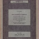 1966 Sotheby Auction Catalog Continental Porcelain