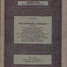 1968 Sotheby Auction Catalog Continental Porcelain