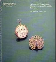 Watch and Jewelry  Sotheby Auction Catalog April 10 1984
