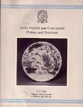 Pottery & Porcelain Christie's 1981  Auction Catalog