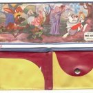 1950s Disney White Rabbit Child's Wallet  Alice in Wonderland