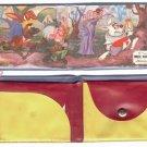 1950s Disney White Rabbit Child's Wallet  Alice in Wonderland
