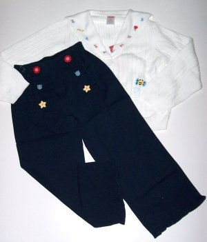 Gymboree WISH YOU WERE HERE Sweater/Capris 5T/5  NEW
