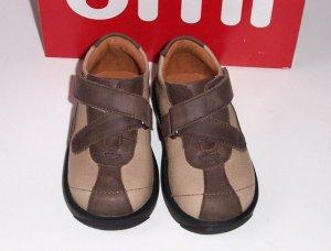 NIB UMI 'Bugaboo' Slip-On  Shoes Toddler Boys Size 5 NEW