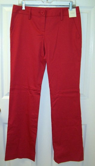 HALOGEN Red Slacks/Pants Womens Size 4