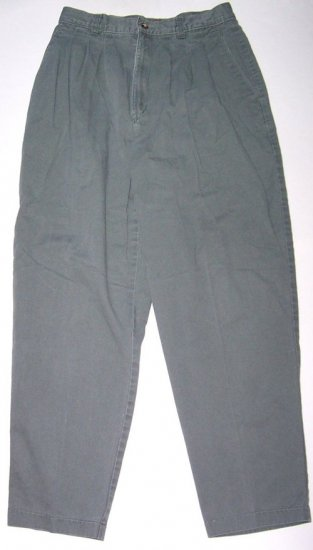 LEE Womens Casual Green Boot Leg Pants/Jeans Sz. 12 Petite