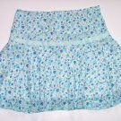 SPEECHLESS Blue Flower Short Summer Skirt Girls Lg.