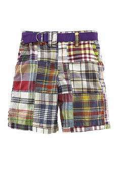 "RALPH LAUREN ""Nichols"" Patchwork Shorts - Boys 12"