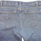 DISNEY Princess Cinderella Crown Jeans Girls 7 Reg.