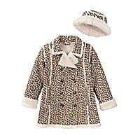 COMPANY KIDS Sherpa Hipster Coat Toddler Girls 2T/2