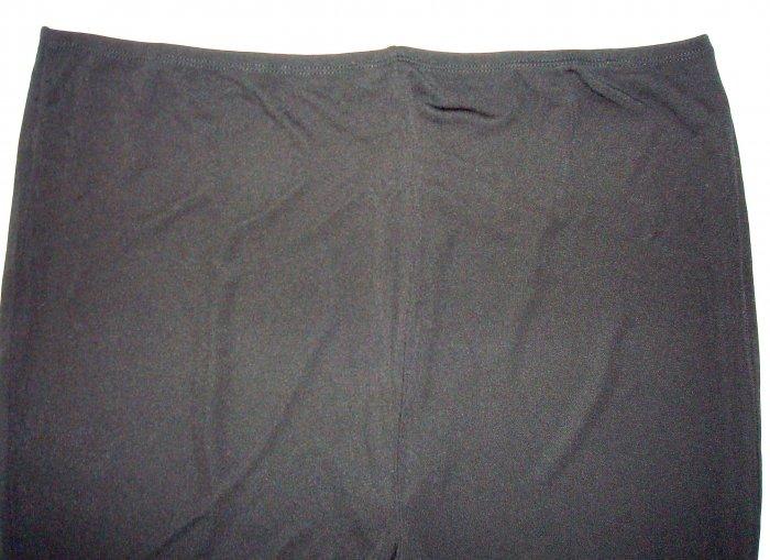 BABYSTYLE Black Sleek Rayon Maternity Pants/Slacks XL