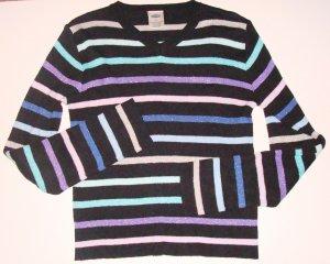 OLD NAVY Striped V-Neck Sweater Girls 12