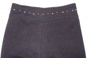 PLUM PUDDING Black Stretch Dress Pants Girls 9/10