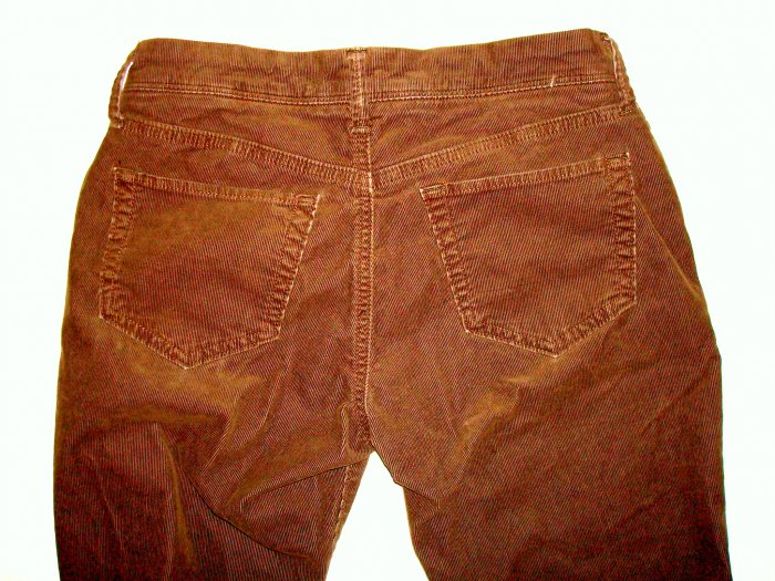 AEROPOSTALE Chocolate Brown Corduroy Jeans/Pants Jr. 2