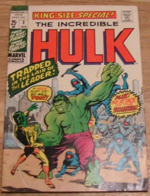 The incredible Hulk 3 King-Size Special!