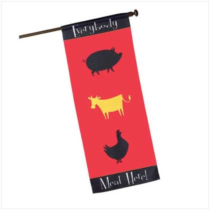 Everybody Meat Here Banner
