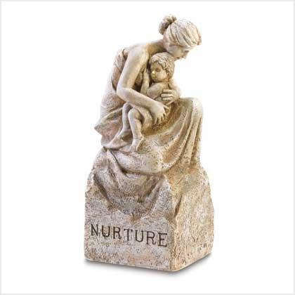 """Mother and Child """"Nurture"""" Statue"""