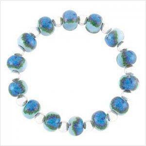 Peacock Beaded Bracelet
