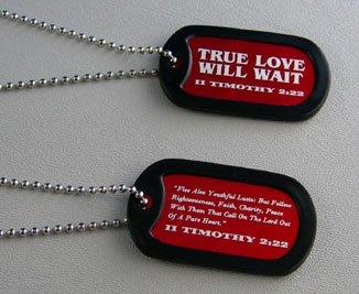 Dog Tags - True Love Will Wait