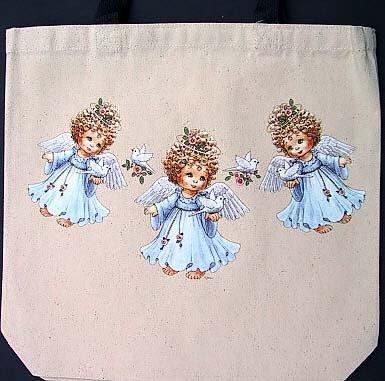 Three Angels Tote Bag