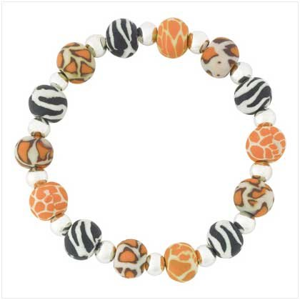 Safari Beaded Bracelet