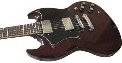 Beautiful NEW Electric Guitar - Similar to Gibson SG