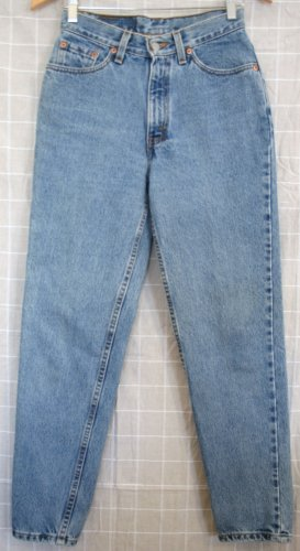 *Womens Levi Red Tab Jeans 512 7 S 27 x 29 USA