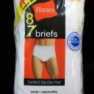 *1Pack (8 pair) Hanes White Briefs Size 32-34